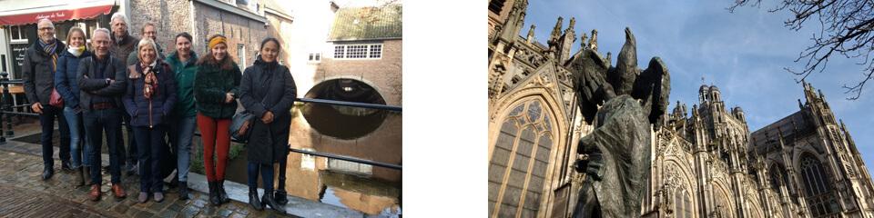 Team van Watersnip bezoekt waterstad Den Bosch