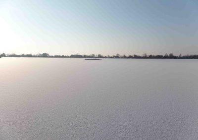 Reeuwijkse plassen sneeuw