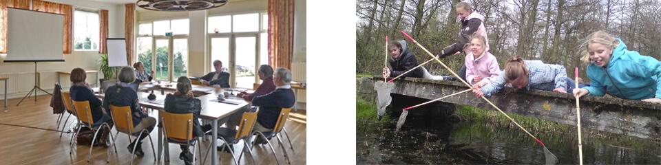 Docenten Driestar educatief Gouda vergaderen bij Watersnip