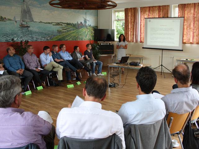 Vergaderruimte in Reeuwijk nabij Gouda kunt u heerlijk vergaderen
