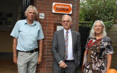 Watersnip ontvangt erkenning als fairtrade bedrijf op feestelijke wijze
