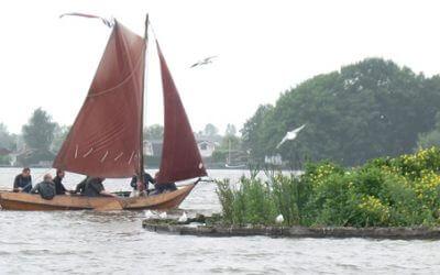 De wetlands van de Reeuwijkse plassen ontdekken met grundels
