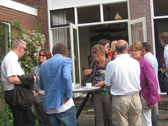 Het terras kunt u ook gebruiken wanneer u onze vergaderruimte huurt vlakbij Gouda